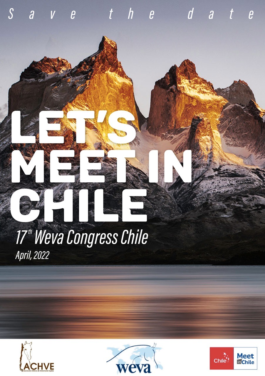 The next WEVA Congress will be in Chile in April 2022